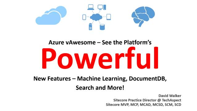 Azure vAwesome/Machine Learning