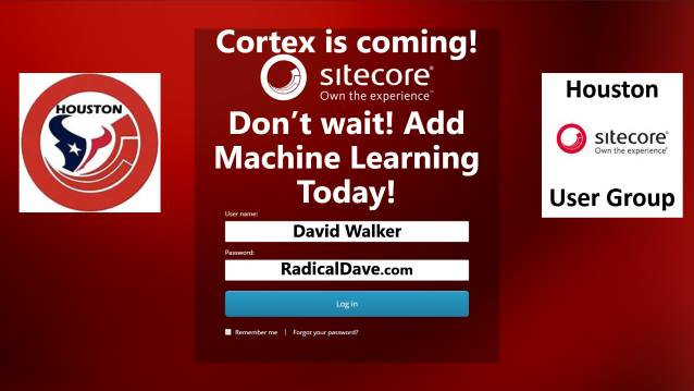 Cortex is coming! Don't Wait! Add Machine Learning Today!