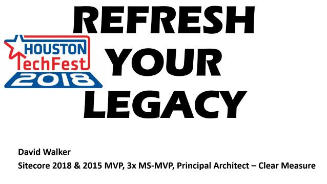 REFRESH YOUR LEGACY