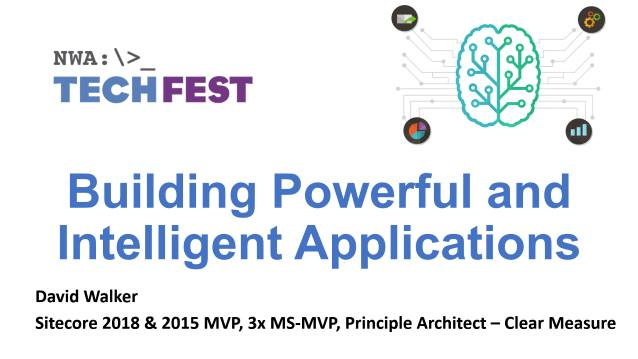 Building Powerful and Intelligent Applications