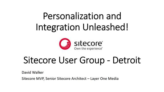 Personalization and Integration Unleashed